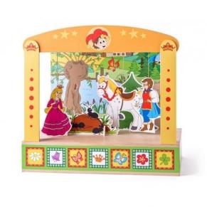 Woodyland В света на приказките - Дървен куклен театър