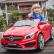 Акумулаторна кола Mercedes Benz CLA45 AMG  Wi-Fi с кожена седалка 2