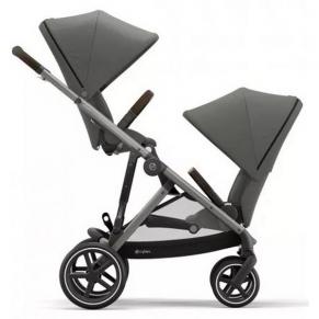 Cybex Gazelle Taupe - Бебешка количка за близнаци
