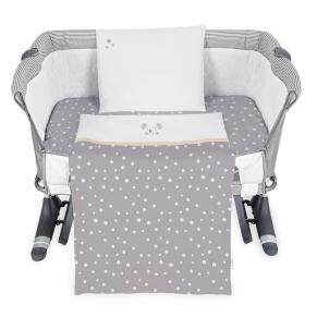 KikkaBoo - Бебешки спален комплект за мини-кошара 5ч