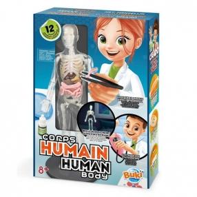 Buki France Човешкото тяло - Детска лаборатория