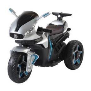 Moni Акумулаторен мотор Shadow, 12V металик с кожена седалка