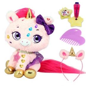 Shimmer Stars  Еднорогът Блясъчка - Забавна плюшена играчка