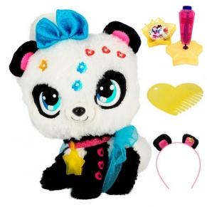 Shimmer Stars Пандата Пикси - Забавна плюшена играчка