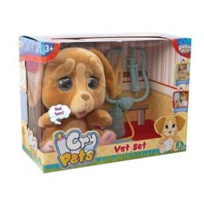 CRY PETS - Куче със сълзи с ветеринарни принадлежности