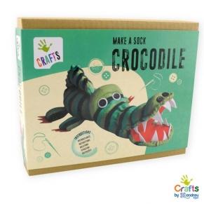 Andreu toys - Направи сам Крокодил от чорапче