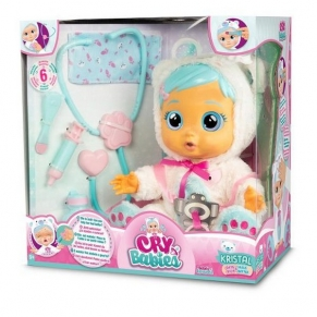 IMC CRYBABIES KRISTAL БОЛНО БЕБЕ - Плачеща кукла