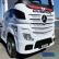 Акумулаторен камион Mercedes ACTROS Licensed 4X4, батерии 2X12V с MP4, меки гуми и кожена седалка 5