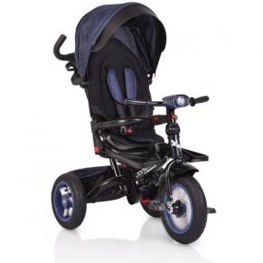 Byox Jockey - Детска триколка с музикално табло и надуваеми гуми, 360 градуса