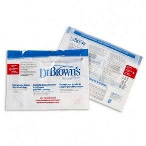 Dr.Brown's - Торбички за стерилизация в микровълнова 5бр