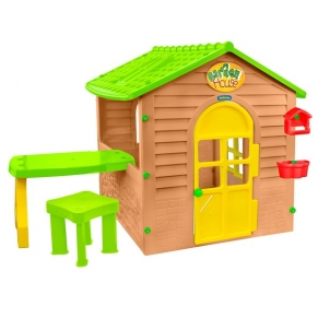 Mochtoys - Къща с маса и стол