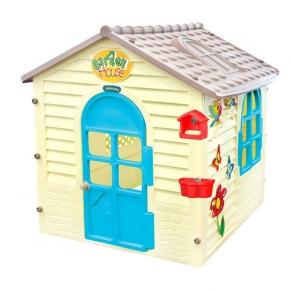 Mochtoys - Малка къща с дъска за рисуване