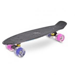 """Byox Graffiti Pink LED 22"""" - Скейтборд"""