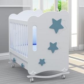 Bambino Casa Stelle Blu - Бебешко креватче Синьо
