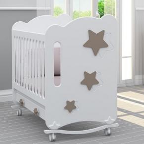 Bambino Casa Stelle Тortora - Бебешко креватче Капучино