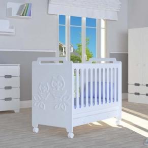 Bambino Casa Gufi Bianco - Бебешко креватче Бяло