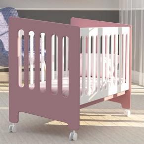 Bambino Casa Omni Rosa - Бебешко креватче Розово