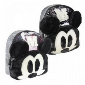 Cerda Mickey 3D - Детска раница с пайети 26 cm