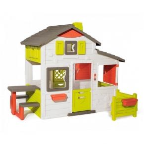 Smoby Neo Friends House Playhouse - Детска Къща за игра