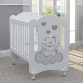 Bambino Casa Dolce Baby - Бебешко креватче Light Gray
