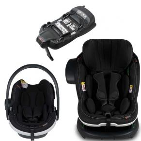 BeSafe модулна система iZi Modular + ISOFix база - Premium Car Interior Black