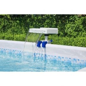 Bestway LED Waterfall - филтърна помпа - водопад
