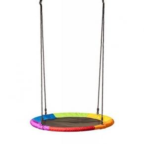 Woodyland - Кръгла люлка, Дъга, 100 см