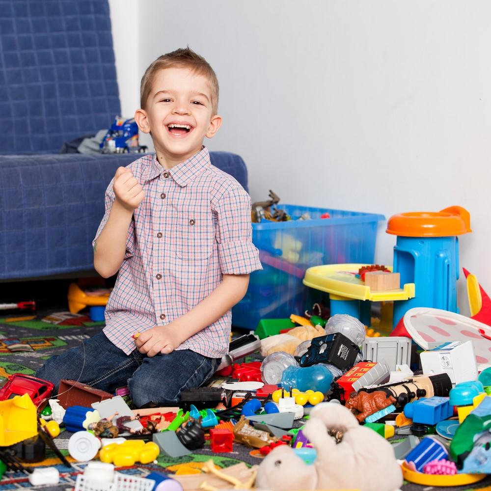 Къде да приберем детските играчки?